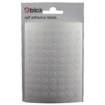 Blick White 8mm Round Label Bag