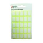 Blick 12x18mm White Label Bag
