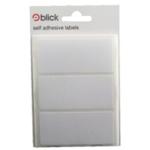 Blick 34x75mm White Label Bag
