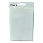 Blick 80x120mm White Label Bag