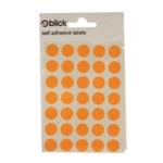 Blick Flourescent Labels 13mm Orge P2800