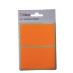 Blick Flourescent Labels 50x80mm Orge P1