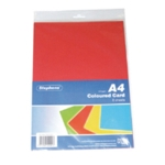 Stephens Assorted A4 Card Sheets Pk10