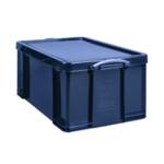 Really Useful Black 64L Rcyc Storage Box