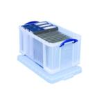 Really Useful Clear 48L Storage Box 48C