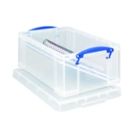 Really Useful Clear 9L Box With Lid