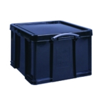 Really Useful Black 42L Rcyc Storage Box