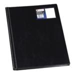 Rexel Nyrex Slim Disp Bk 12 Pkt A4 Black