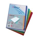 Rexel Nyrex Cut Back Folder A4 Asstd Pk2