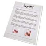 Rexel Nyrex Cut Flush Folder A4 Clr Pk25