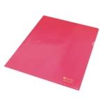 Rexel Nyrex Cut Flush Folder A4 Red Pk25