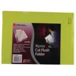 Rexel Nyrex Cut Flush Folder A4 Yllw P25