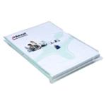 Rexel Nyrex A4 Exp Cut Back Folder Pk10