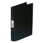 Rexel Budget 2 Ring Binder A4 Black Pk10