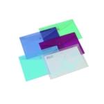 Rexel Popper Folder A4 Clear Asstd Pk6