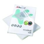 Rexel Ecodesk L Cut Flush Folder A4 Pk25
