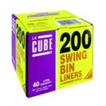 Le Cube Swing Bin Liner Dispenser Pk200