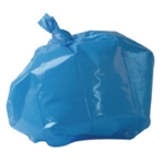 2Work Refuse Sack CHSA 10KG Blue Pk200