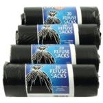 Safewrap Refuse Sack 20 Per Roll Pk4