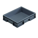 Grey 400x300x74mm Euro Stack Container