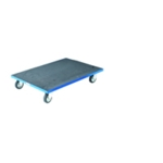 Container Dolly Blue 800X600mm Anti-Slip