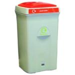 Recycling Envirobin 100L Gry/Orng 315273