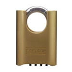 Combi Change Shackle Brass Padlock