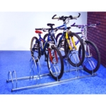 Cycle Rack For 5 Cycles Zinc Plated Grey