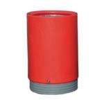 Red Outdoor Open Top 75Ltr Bin 321778