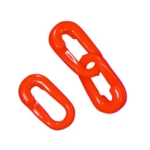 Barrier Red 10mm Split Connector Pk10