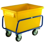 Yellow Plastic Hvy/Duty Container Truck