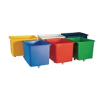 Yellow Container Truck Plywood Base