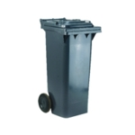 Grey 2 Wheel Refuse Container 240 Ltr