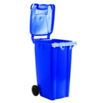 Blue 2 Wheel Refuse Container 360 Ltr