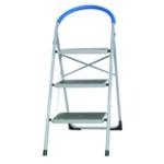 3 Tread White Step Ladder 359294