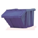 Blue H/Duty Storage Bin With Lid 359518