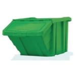 Green H/Duty Storage Bin/Lid 359520