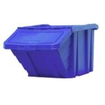 Blue H/Duty Storage Bin With Lid 369044