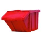 Red H/Duty Storage Bin/Lid 369045