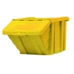 Yellow H/Duty Storage Bin/Lid 369047
