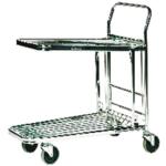 VFM Metallic Grey Stock Trolley