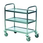 Economy Stainless 3-Shelf Trolley 375609