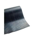 Broad Ribbed Black 5mm 1200mmX10m Mat