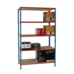 Blue/Orange 120x30cm Shelf Unit 378983