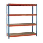 Orange/Zinc 2000X1500Xd900mm Shelving