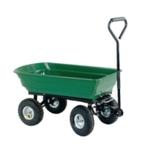 Dumping Green/Black 125L Cart 382074