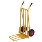 Yellow Sack Truck with Folding Footplate