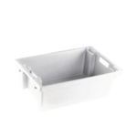 Solid White 600X400X200mm Container