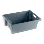 Grey Solid Nesting Container 600X400X200