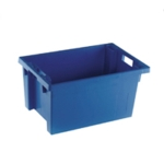 Blue Solid 600X400X300 Nesting Container